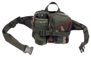 Hüfttasche mit Trinkflasche, woodland, mit diverse Taschen