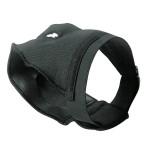 Hundekleidung Luxus Schutzhose, schwarz Gr. 0 , Bauchumfang 32 bis 37 cm