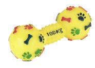 Hundespielzeug Vinylhantel, mit Squeeker
