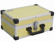 IRONSIDE Alu Werkzeugkoffer gelb 330 x 230 x 150mm