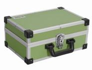 IRONSIDE Alu Werkzeugkoffer grün 330 x 230 x 150 mm