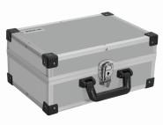 IRONSIDE Alu Werkzeugkoffer silber 330 x 230 x 150 mm