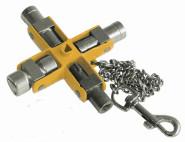 IRONSIDE Universal-Cabinet-Ket, Steckschlüsseleinsätze, 11 Funktionen