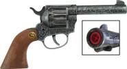 J.G.Schrödel Magnum antik 22cm, 12-Schuss Pistole, Tester