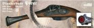 J.G.Schrödel Spielzeugpistole, Piratenpistole Blunderbuss 27 cm, 100-Schuss Spezialpistole
