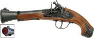 J.G.Schrödel Spielzeugpistole, Piratenpistole Blunderbuss 27 cm, 100-Schuss Spezialpistole, in Tester Verpackung