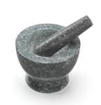 Jamie Oliver Stößel & Mörser, Küchenhilfe, Kräutermörser, Durchmesser 16 cm, aus Granit