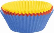 Kaiser 150 Stück Mini-Muffin-Papierbackförmchen, farbig sortiert, Ø 4,5 cm