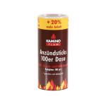 KaminoFlam® - Anzuendsticks, 100er-Dose, Naturholz und Wachs
