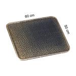 KaminoFlam® - Bodenblech altmessing 50 x 80 cm
