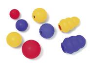 Karlie Boomer Vollgummi Jumper Hundespielzeug mit Vanille-Aroma, farblich sortiert