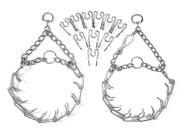 Karlie Verlängerungsglieder für Hunde Dressurhalskette 3,2 mm