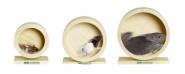 Karlie Wonderland Bogie Wheel Holzlaufrad für Nager