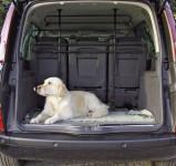 Kerbl Auto-Schutzgitter für Hunde, B: 85 bis 140 cm, H: 75 bis 110 cm