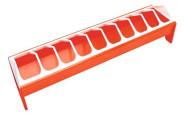 Kerbl Futtertrog für Geflügel, Kunststoff, 50 x 12 cm