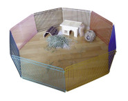 Kerbl Hamster Freigehege, 8 Elemente á 34 x 23 cm