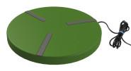 Kerbl Heizplatte für Geflügeltränken Ø 300 mm; 24V; 22W; mit Netzteil