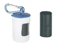 Kerbl Hundekot-Beutelspender, Kunststoff, inkl. 2 Rollen à 20 Beutel