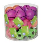 Kerbl Hundespielzeug Neonball, 6 cm, sortiert