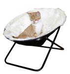 Kerbl Katzenkorb SHARON, Liegemulde, Durchmesser 50 cm weiß
