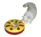 Kerbl Katzenspielzeug RACING WHEEL, Durchmesser 24 cm, farblich sortiert
