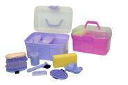 Kerbl Putzbox 8tlg. Set aus Kunststoff