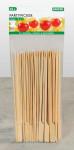 Kesper 50er Pack Party-Pieckser aus Bambus, 18 cm lang, FSC-zertifiziert, mit kleinem Griff, naturfarben, Snack-Spieße