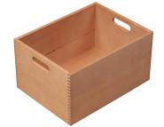 Kesper Aufbewahrungsbox, aus Buche, Holzkiste, FSC-zertifiziert, 40 x 30 x 20 cm