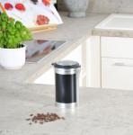 Kesper Aufbewahrungsdose, Kaffeedose mit beschreibbarer Fläche, aus Metall, Höhe: 190 mm, Ø 110 mm,