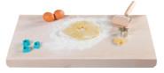 Kesper Back- und Bastelbrett, 55 x 36 x 1,2 , aus Buchen-Schichtholz, FSC-zertifiziert, mit 2 Anschlagleisten
