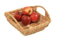 Kesper Brot- und Obstkorb, Weidenkorb, Aufbewahrungskorb, S, aus Vollweide, Maße: 270 x 290 x 190 mm
