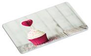 """Kesper Dekor-Frühstücksbrettchen """"Cupcake"""", aus Melamin, 23,5 x 14 x 0,4 cm, mit 4 rutschfesten Füßchen, mit Cupcakemotiv"""