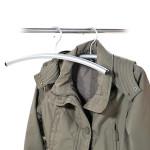 Kesper Garderobenbügel, Kleiderbügel, Jackenbügel, aus Metall, Maße: 410 x 20 mm