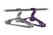 Kesper Kinderkleiderbügel, 4er, Kunststoff, farblich sortiert, 32 cm, 1 Stück
