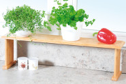 Kesper Küchenregal aus Bambus, 76 x 21,5 x 15 cm, FSC-zertifiziert, Ordnungshelfer