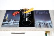 Kesper Multi-Glasschneideplatte, 2er Pack, Motiv: Schiefer, Kochfeldabdeckung für Glaskeramikplatten, Maße: ca. 520 x 300 x 9 mm
