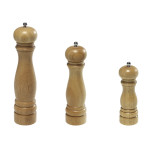 Kesper Pfeffermühle, Pfefferspender, Gewürzmühle, aus Keramik, Gummibaumholz, Höhe: 165 mm, Ø 50 mm