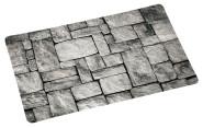 Kesper Platzset aus Kunststoff, 43,5 x 28 x 0,07 cm, in Stein-Optik