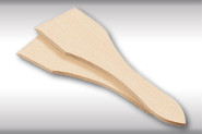 Kesper Raclette-Spachtel, Raclette-Zubehör, Racklette-Schaber, 2er Pack, aus FSC®-Buche, Maße: 130 x 35 mm,
