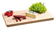 Kesper Schneidebrett rechteckig aus Buchenholz FSC, 45 x 27 x 2,8 cm
