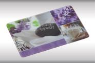 Kesper Schneideplatte, Glas-Frühstücksbrettchen, Glasplatte Motiv: Guten Appetit, Maße: ca. 300 x 200 x 7 mm