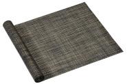 Kesper Tischläufer, Tischband, Tischwäsche, Tischdecke, aus Kunststoff, Maße: ca. 150 x 40 x 0,1 cm, in grau