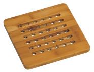 3 Stück Kesper Topfuntersetzer, Holzuntersetzer, FSC-Bambus, Maße: ca. 190 x 190 mm