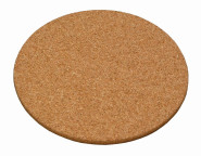 Kesper Untersetzer, Korkuntersetzer, Unterleger, aus Kork, Höhe: 10 mm, Durchmesser: 200 mm