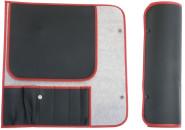 Kochmesser-Rolltasche für 6 Messer   Contacto