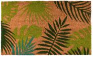 Kokosmatte Tropische Blätter | Rivanto®