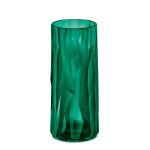 Koziol Longdrink Glas CLUB NO. 3, 250ml, Superglas by Koziol, Diamant-Optik, hohe Isolierung, spülmaschinengeeignet, bruchresistent, transp grün