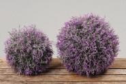 Lavendelkugel, Kunst-Lavendel, Lavendel Kunstpflanze, Blütenkugel, Ø 17 cm, 1 Stück