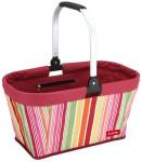 livante Einkaufskorb CALIFORNIA - praktischer Shopper u. Picknickkorb, farbig gestreift
