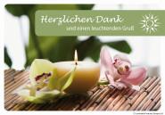 """Luminaria Laternen-Grußkarte """"Herzlichen Dank"""""""